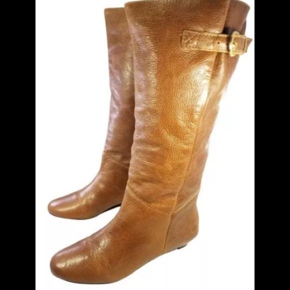 2e42403cbaa Steve Madden Intyce Knee High Wedge Boots. M 5b7892cad8a2c7e13b8ff5bc